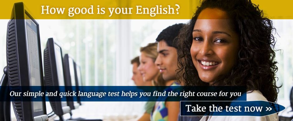 English language level test from Cork English Academy