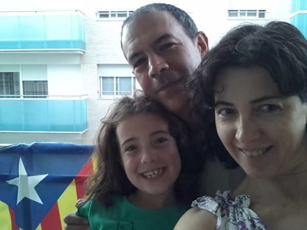Laia , Eva and Ferran on our Family Package