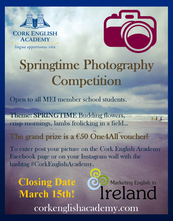 Photography competition for international students.