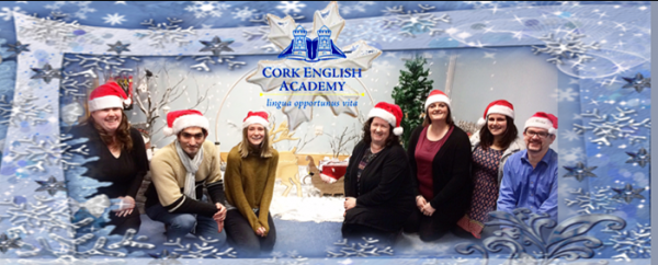 Happy Christmas from Cork English Academy