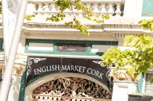 The Entrance to the English Market in Cork City