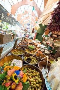Fresh produce  at the English Market in Cork City