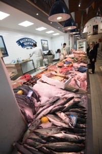 Ballycotton fish at the English Market in Cork City