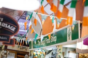 Irish colours at the English Market in Cork City