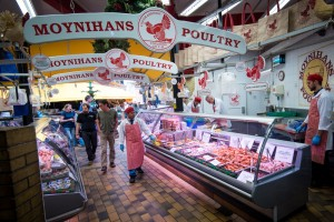 Poultry at the English Market in Cork City