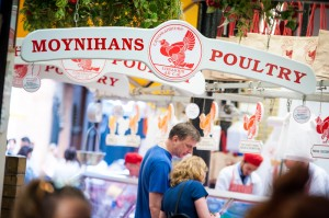 Chicken stall at the English Market in Cork City