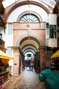 Architecture at the English Market in Cork City